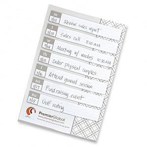"""Bic 6"""" 9"""" Large Adhesive Notepad 25 Sheet"""