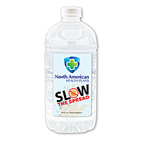 64 Oz.  Liquid Hand Sanitizer, Full Color Digital