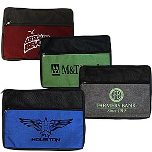 Double Zipper Accessory Bag