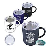 15 Oz. Halcyon® Coffee Mug With Acrylic Lid