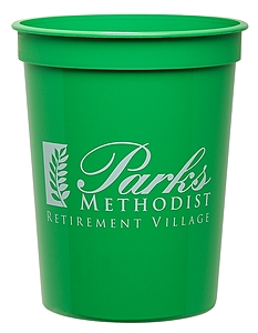16 Oz. Smooth Colored Stadium Cup