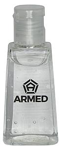 1oz Hand Sanitizer Bottle