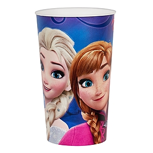 "22 Oz. Plastic Souvenir Cup W/Full Color ""In Mold Labeling"""