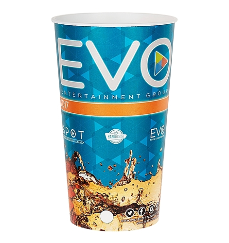 "44 Oz. Plastic Souvenir Cup W/Full Color ""In Mold Labeling"""