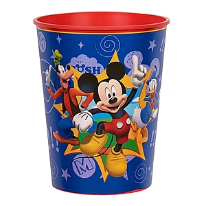"16 Oz. Plastic Souvenir Cup W/Full Color ""In Mold Labeling"""