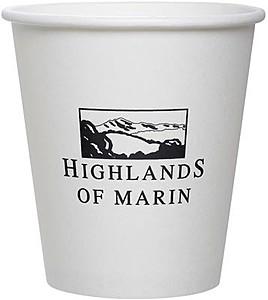 10 Oz. Squat Paper Cup