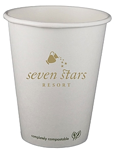 12 Oz. Eco Friendly Compostable Paper Hot Cup