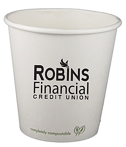 10 Oz. Eco Friendly Compostable Paper Hot Cup