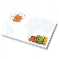 "Bic Ecolutions 5"" 3"" Adhesive Notepad, 25 Sheet"