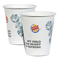 6 Oz. Paper Cold Cup   Flexographic Printed