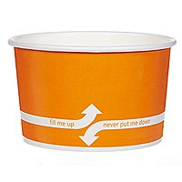 20 Oz. Paper Dessert/Food Cup  Flexographic Printed