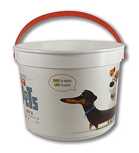 "48 Oz. Plastic Bucket & Handle W/Full Color ""In Mold Labeling"""