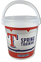 """16 Oz. Plastic Bucket & Handle W/Full Color """"In Mold Labeling"""""""