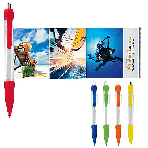 Photo of Translucent Colored Banner Pen