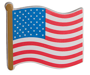 United States Flag Stress Reliever