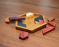 Wood Hexagon Puzzle