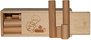 Wooden Log Puzzle