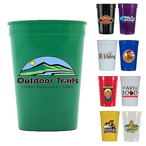 Photo of 12 Oz. Smooth Stadium Cup, Full Color Digital