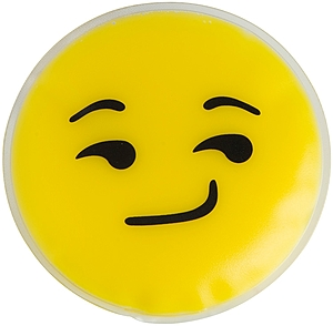 Smirk Emoji Chill Patch
