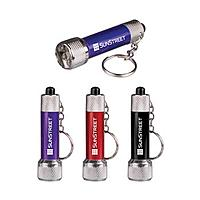 Mini Metal Flashlight Keychain