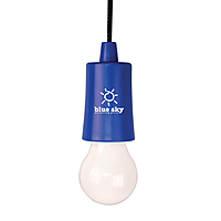 Blue Bulb Shaped Led With Cord