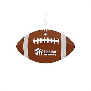 Football Stock Design Air Freshener