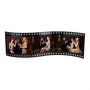 Hollywood Film Triple Frame