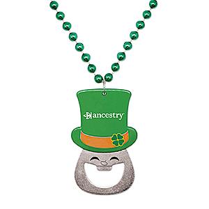 St. Patrick's Bottle Opener Bead