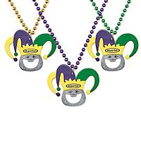 Jester Bottle Opener Beads
