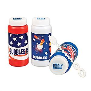 Patriotic Bubbles   4 Oz.