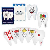 Tooth Shaped Playing Cards