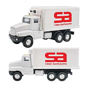 Refrigerated Box Truck Pull Back