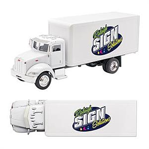 Peterbilt Model 335 Box Truck 1/43 Scale Replica