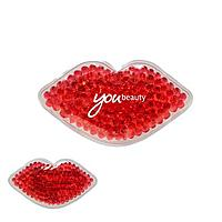Hot/Cold Gel Pack   Lips Shaped