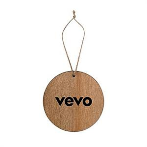 Round Wooden Ornament