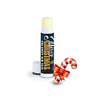 Candy Cane Flavored Natural Beeswax Lip Balm
