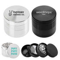 Zinc Tobacco Herb And Spices Grinder
