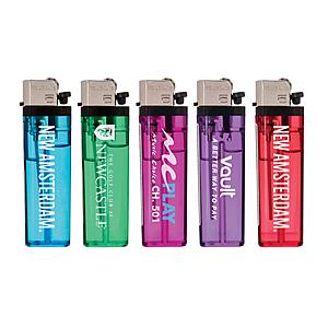 Transparent Standard Flint Cigarette Lighter