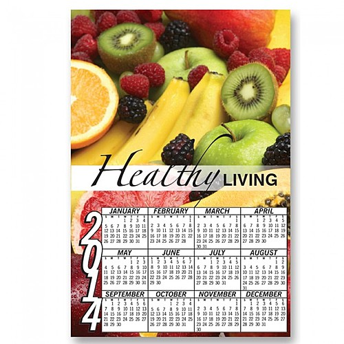 Full Color Digital Calendar Magnet