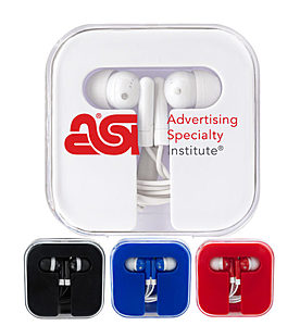 Ear Phones In Window Case