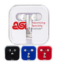 Ear Phones In Window Case