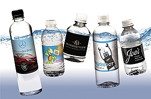 Bottled Water With Custom Label (16.9 Oz)