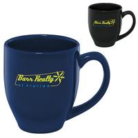 Shiny Bistro Mug   15 Oz. (Colors)