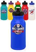 20 Oz. Water Bottles With Push Cap