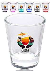 1.75 Oz. Clear Glass Shot Glasses
