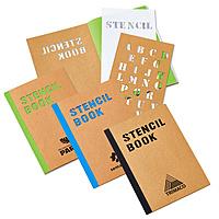 "5 3/4"" X 8 1/4"" Stencil Book"