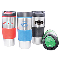 Mighty Grip Stainless Tumbler 16oz