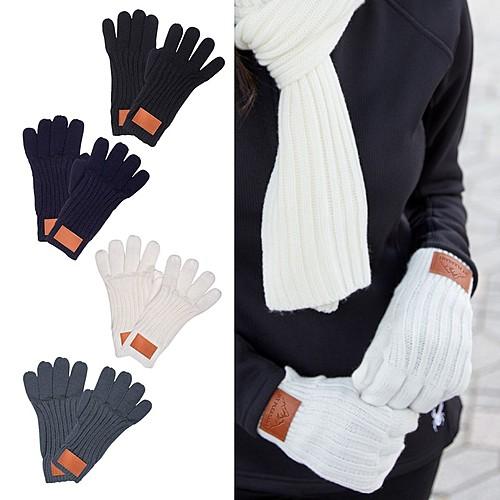 Photo of Leeman™ Rib Knit Gloves