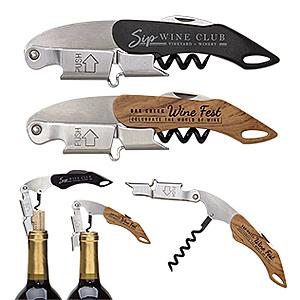 Double Hinged Wine Key Corkscrew
