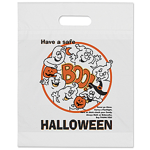 Boo Ghost Die Cut Bag